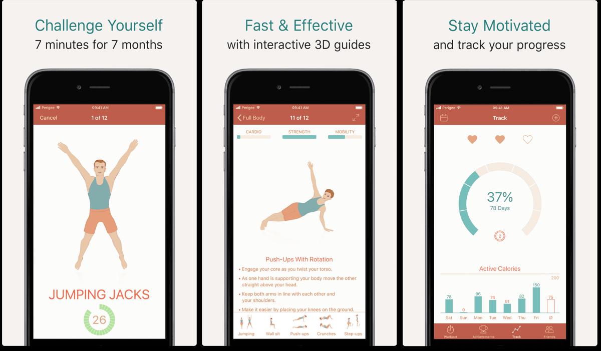 seven sport apps fitness