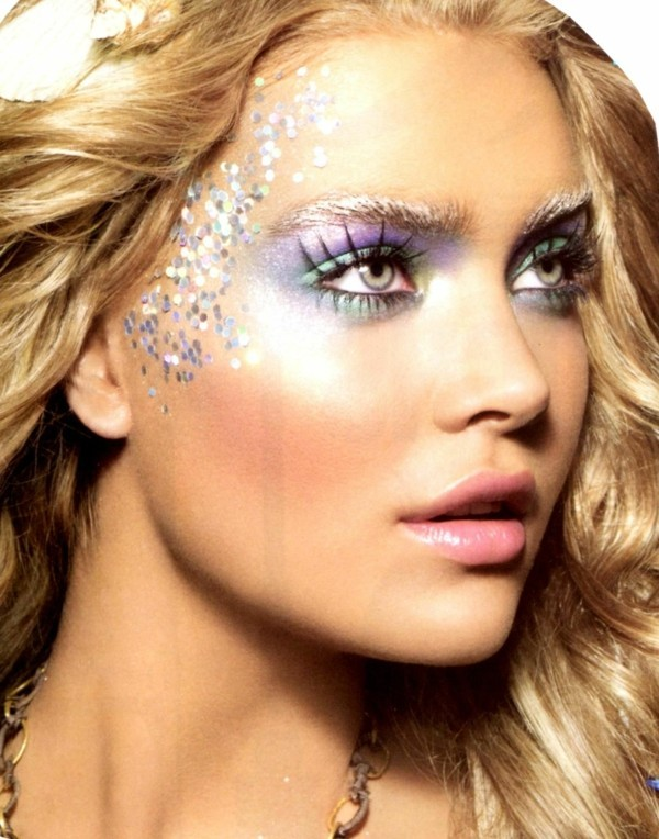 sexy meerjungfrau schminken zum karneval