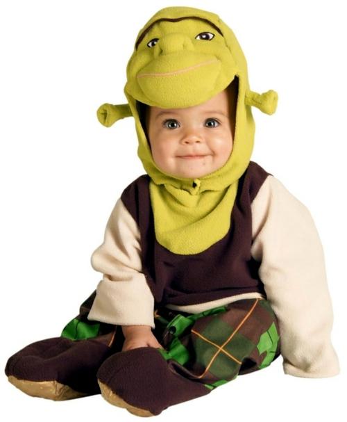 shrek baby karneval kostüm