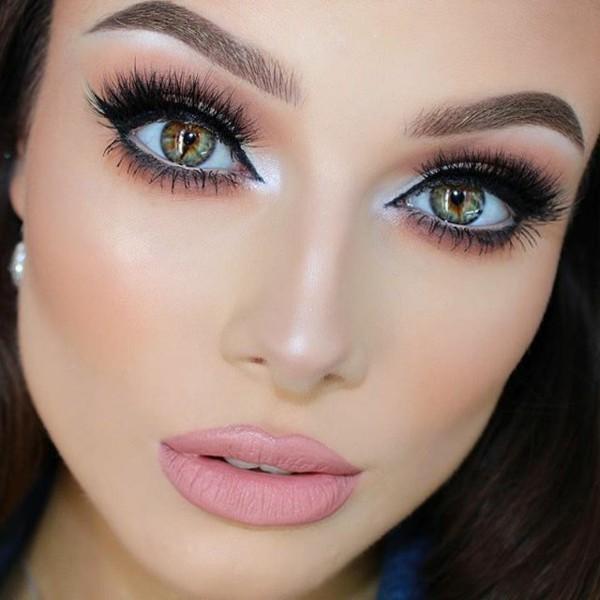 strahlende smokey eyes schminken