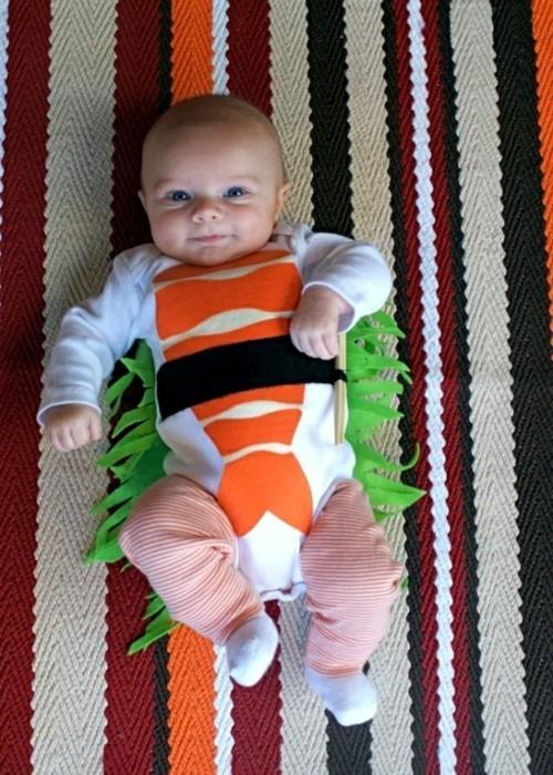 sushi baby karneval kostüm