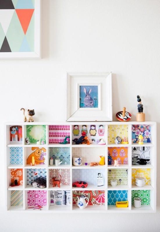 70 ideen wie sie tapetenreste ganz kreativ verwerten k nnen. Black Bedroom Furniture Sets. Home Design Ideas