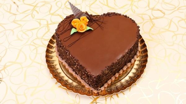 torte aus toller schockolade valentinstag ideen