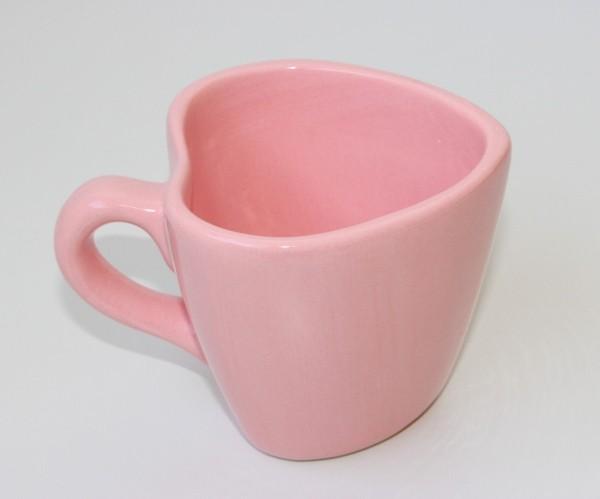 valentinstag ideen schöne rosa tassen