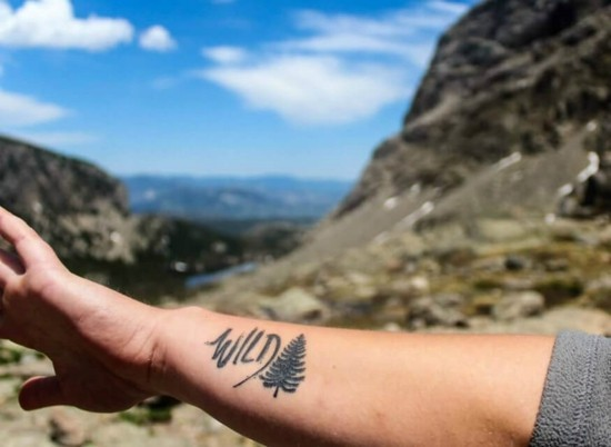 wanderlust tattoo ideen natur reisen