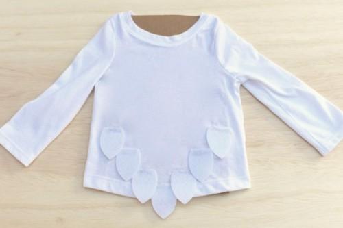 weiße eule baby karneval kostüm basteln