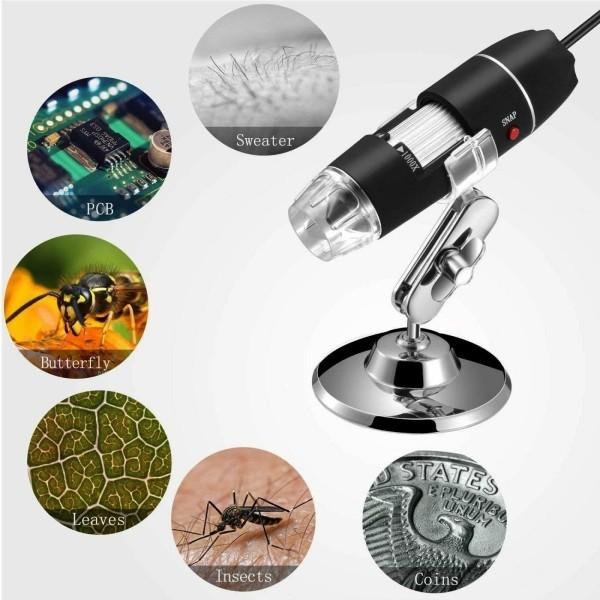 8 originelle Hi-Tech Geschenke für Kinder ab 3 Jahren jiusion handheld digital mikroskop