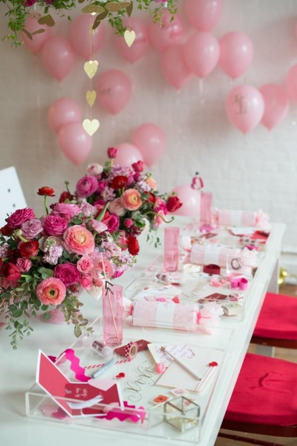 Deko für alle Sinnen am Valentinstag