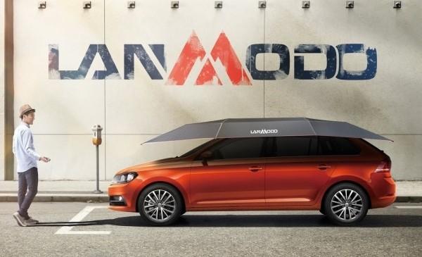 Die besten Auto Gadgets 2019, die für mehr Sicherheit und Komfortunterwegs sorgen lanmodo automatisches auto zelt und camping zelt