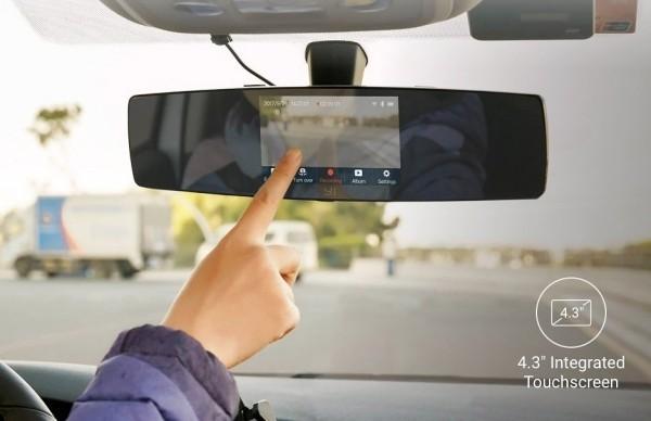 Die besten Auto Gadgets 2019, die für mehr Sicherheit und Komfortunterwegs sorgen yi mirror dash kamera