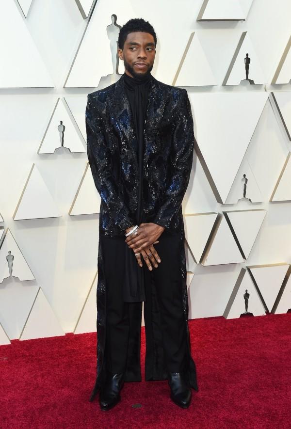 Die besten Outfits bei den Oscars 2019 Chadwick Boseman