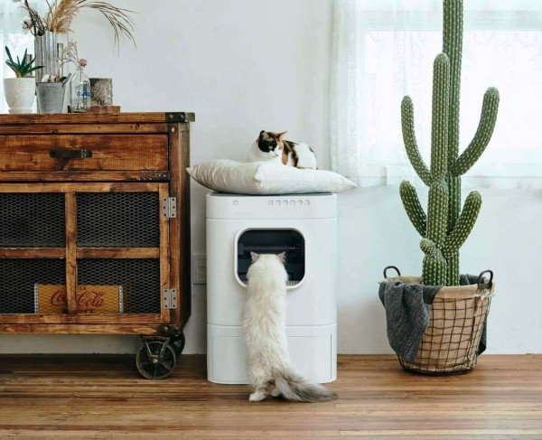 Die besten Smart Home Gadgets für Haustiere lavviebot smart katzenklo