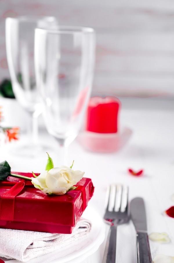 Gläser und andere Ideen für den Valentinstag