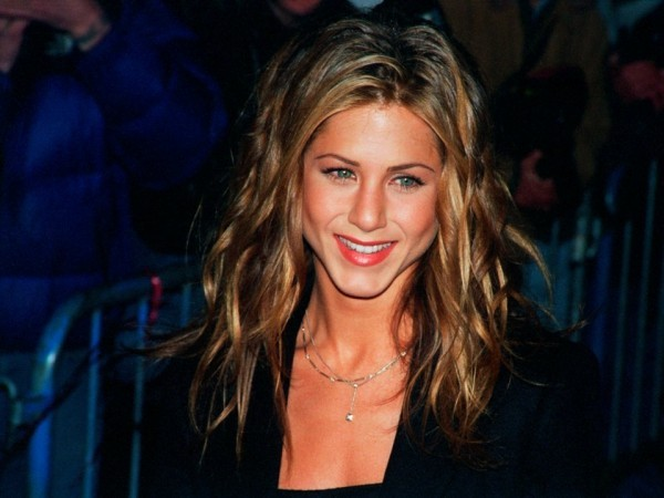 Jennifer Aniston 1995 hellere Highlight im Haar