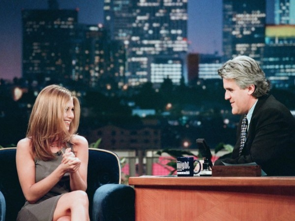 Jennifer Aniston 1997 Gast bei Jay Leno