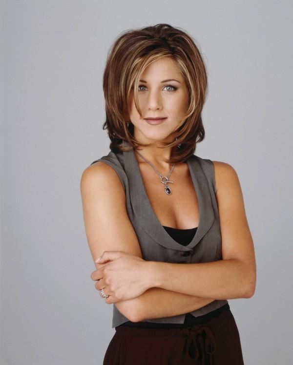 Jennifer Aniston als Rachel Green natürlicher Look