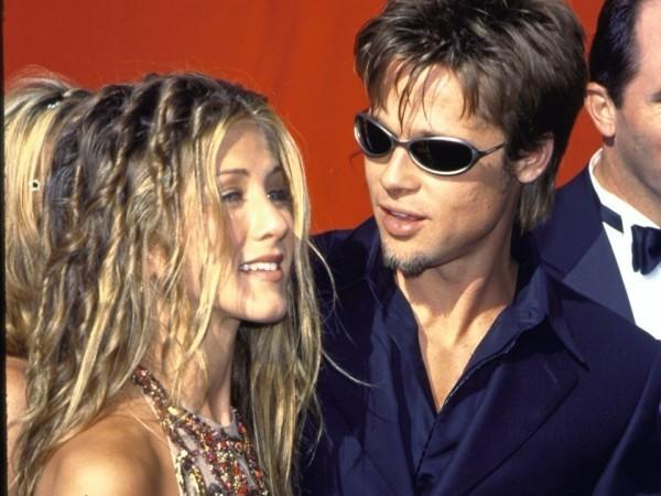 Jennifer Aniston und Brad Pitt im Boho Style bei Emmy Awards
