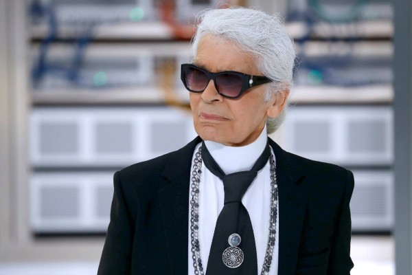 Karl Lagerfeld der größte Modeschöpfer ist tot