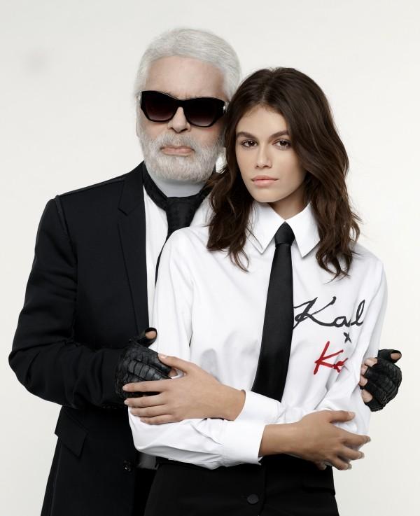 Karl Lagerfeld inspirierte Models wie Keira Knightley