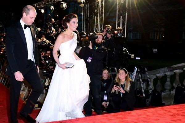 Kate Middleton Prinz William auf dem roten Teppich bei den Baftas 2019