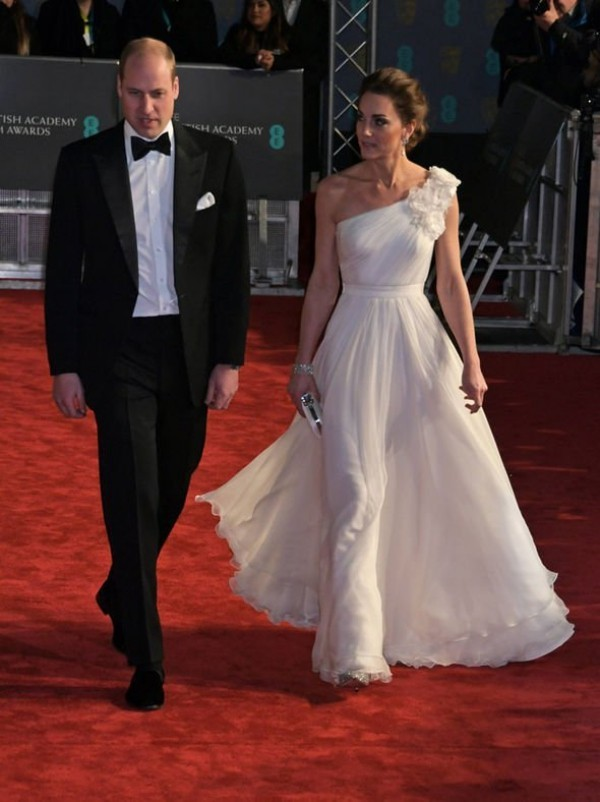 Kate Middleton Prinz William der absolute Hingucker bei der Filmpreis-Verleihung in London