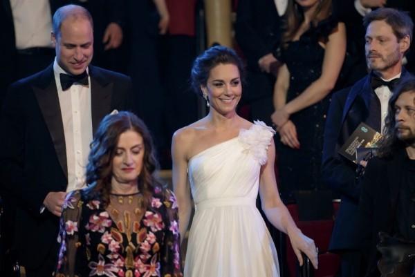Kate Middleton Prinz William stilvoll und selbstsicher bei den Baftas 2019