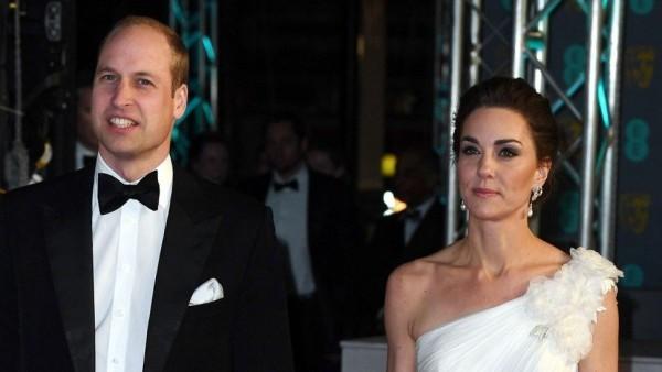 Kate Middleton und Prinz William in Hollywood-Look
