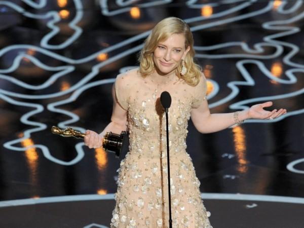 Oscar- Nominierungen Cate Blanchett mit dem Filmpreis