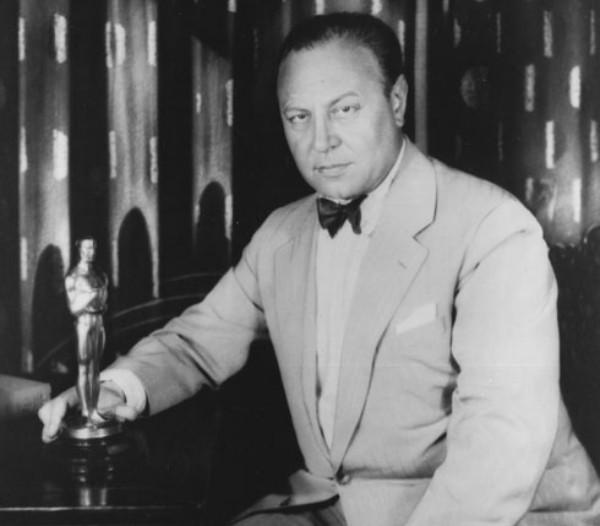 Oscar- Nominierungen Emil Jannings mit seinem Oscar 1929
