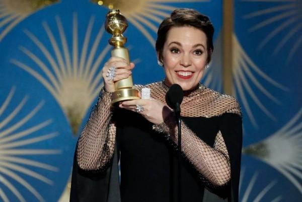 Oscars 2019 Olivia Colman mit dem Filmpreis