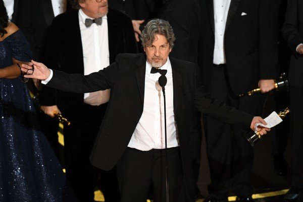 "Oscars 2019 bester Film ""Green Book"" Peter Farrelly mit dem Oscar"