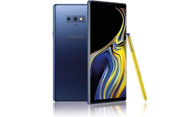 SAMSUNG GALAXY NOTE 9 smartphones