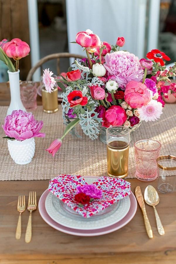 Schöne Rosa Farben - Ideen für den Valentinstag