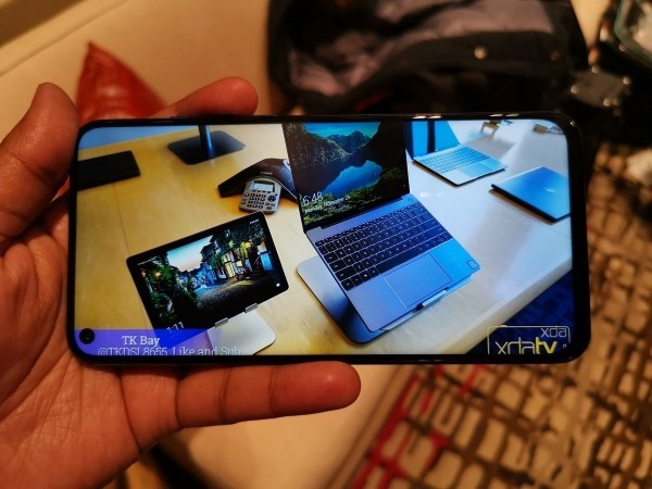 Smartphone tolles Bild Honor View 20