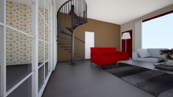 Treppenhaus Boden und tolle Möbel