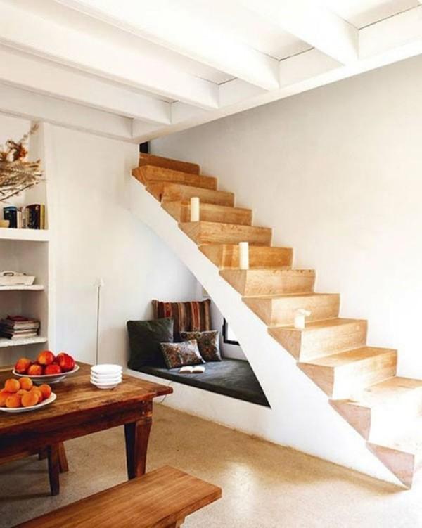Treppenhaus ruhige Liegeecke