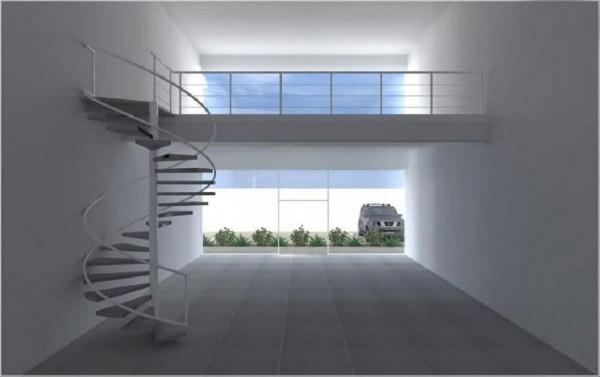 Treppenhaus schöne weiße Fliesen