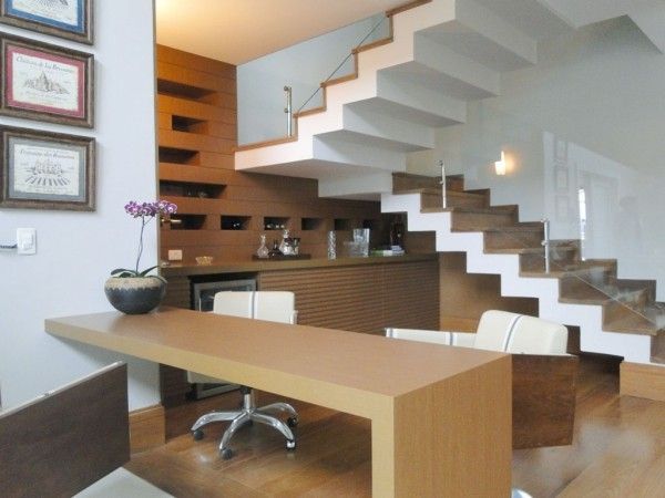 Treppenhaus tolle Arbeitsfläche