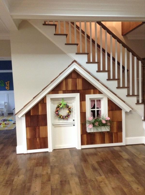 Treppenhaus tolle Einrichtung für die Tür