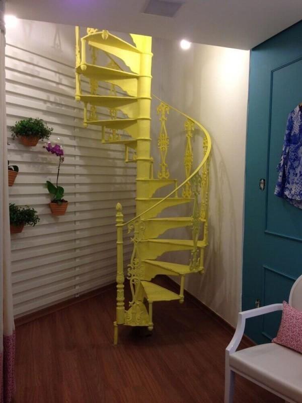 Treppenhaus toller PVC Boden
