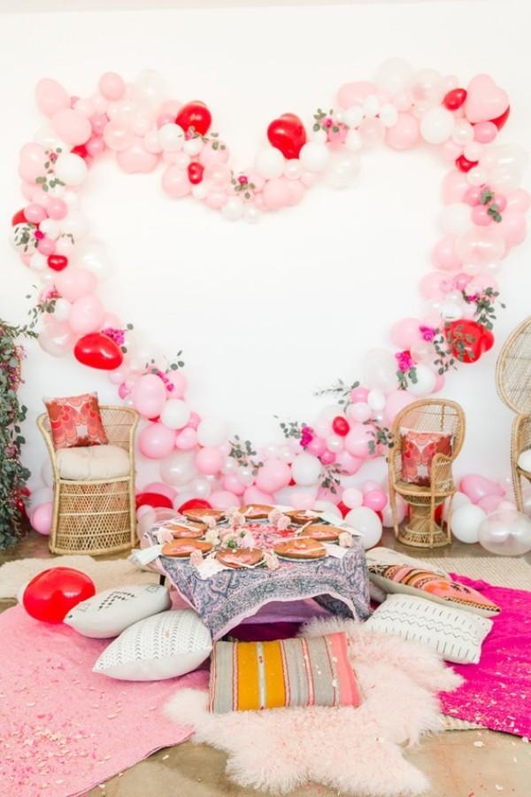 Valentinstag alles für die Wand