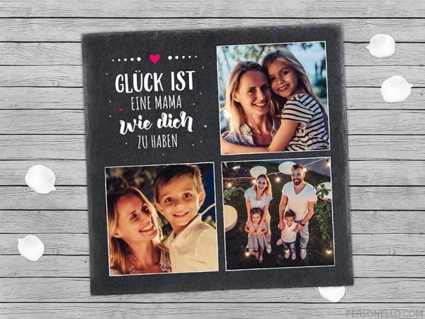 Wunderschöne personalisierte Geschenke zum Muttertag Schieferplatte geschenkideen mit schrift und fotos