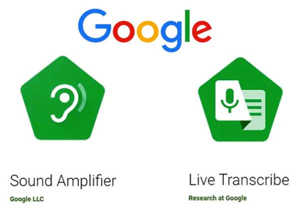 Zwei tolle neue Apps von Google erleichtern Kommunikation hörgeschädigter Menschen die zwei neuen apps live transcribe sound amplifier