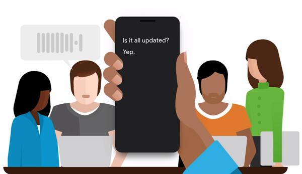 Zwei tolle neue Apps von Google erleichtern Kommunikation hörgeschädigter Menschen live transcribe mit freunden