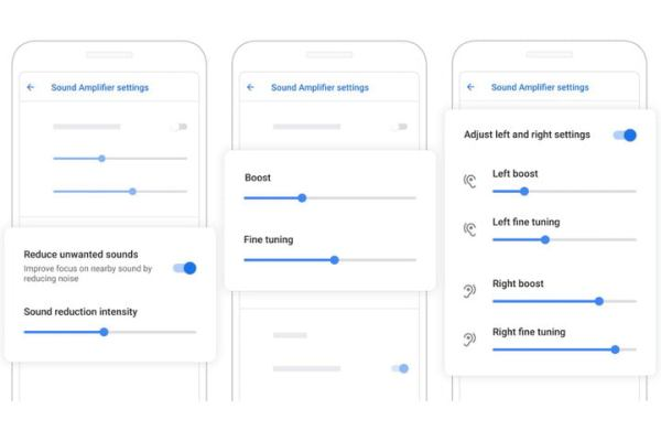 Zwei tolle neue Apps von Google erleichtern Kommunikation hörgeschädigter Menschen sound amplifier einstellungen