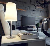 Ausgefallene Einrichtungsideen mit 3D-Wandpaneelen für die Wohnung