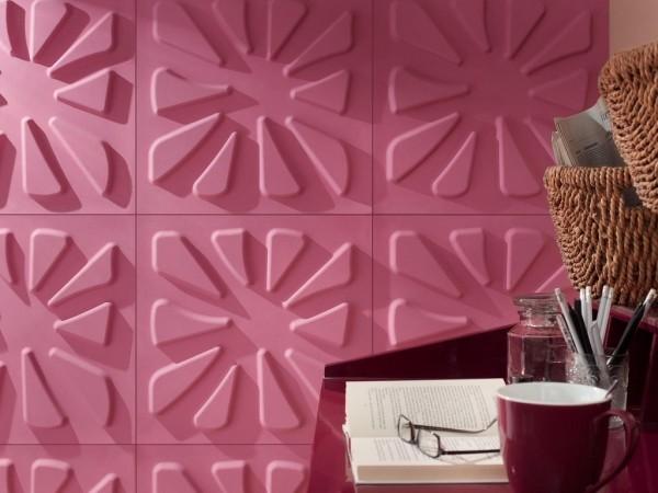 ausgefallene einrichtungsideen idee in tollem rosa