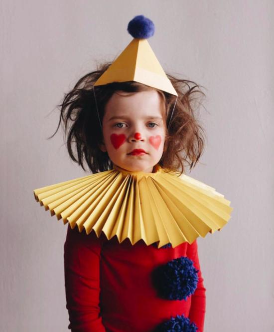 clown faschingskostüme kinder