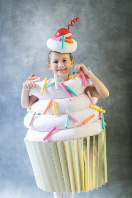 cupcake faschingskostüme kinder ideen