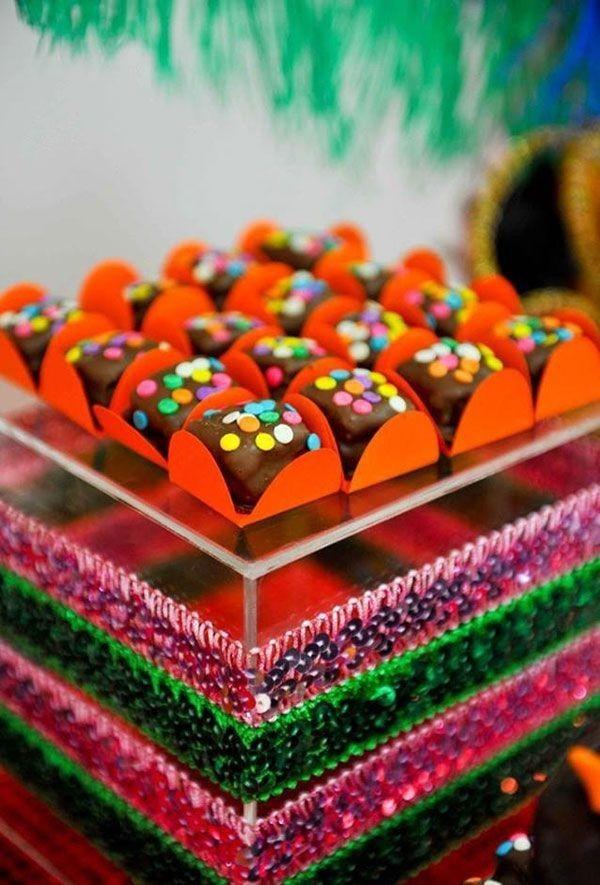 dekoideen schokoladen pralinen